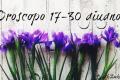 Oroscopo 17 - 30 giugno
