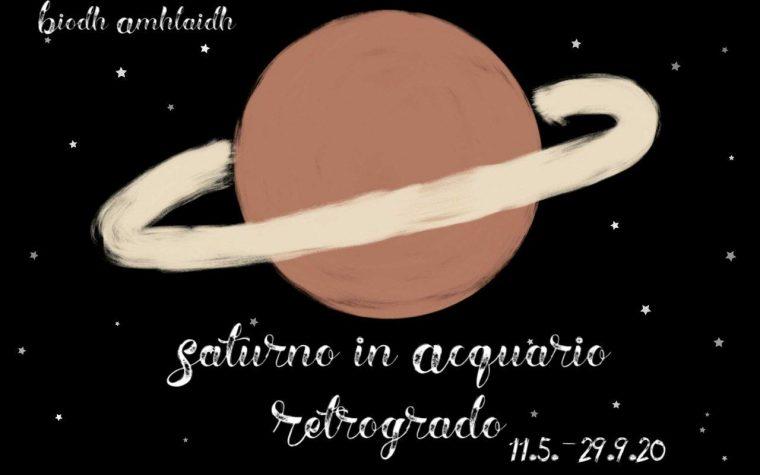 Saturno retrogrado